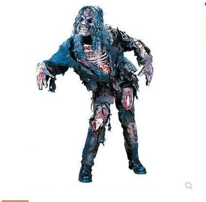 LEIU Cos Traje de Zombie, Halloween, Baile, Terror, Zombies ...