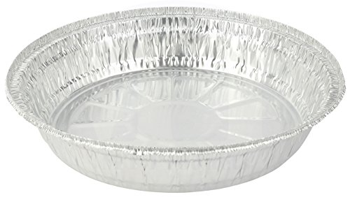 Aluminum Jelly (MT Products Disposable 8 inch Aluminum Round Foil Baking Pan - 37 oz. Capacity - 8.31