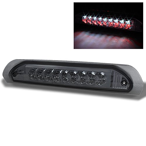 Pickup Led Third Brake Light - For 2002-2008 Dodge Ram 1500 2003-2009 2500/3500 Pickup Truck Smoke LED 3rd Brake Lamp Cargo Light