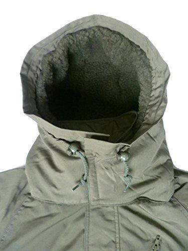ANsitz Caza combinado, Térmica Mono, Mono de trabajo, traje de protección contra el frío, con forro, color verde oliva, verde oliva: Amazon.es: Amazon.es