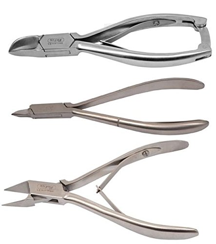 Nagelknipser Nipper Cutter Set Kit Fußpflege/Pediküre, Instrument Tools 3