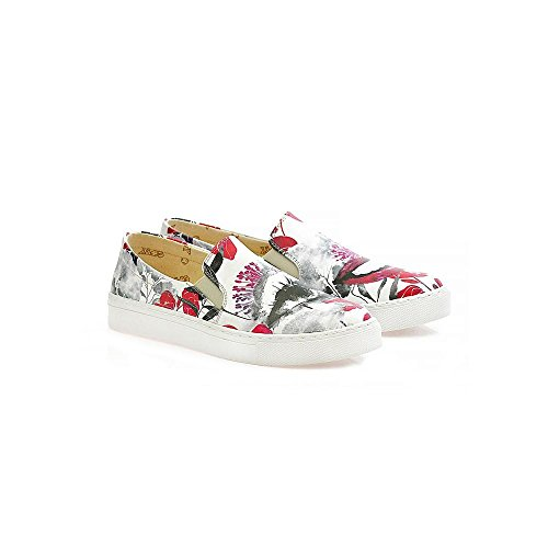 Obermaterial Damen Slip Serie Wvn4040 on VN4000 and aus Schuhe Lip Goby Sneakers UK Eye Leder Af4RRY
