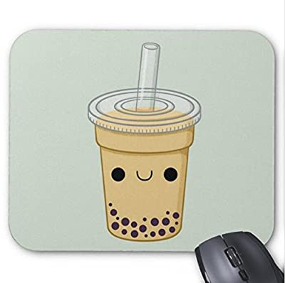 Mousepad Cute Cartoon Driking Bottle Draw Print Mouse Mat