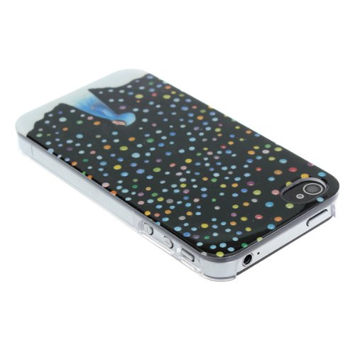 Jimmy Cartoon Case Snow Day Colorful pour l'iPhone 4 4S