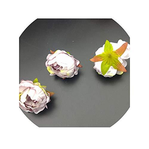 Sweet-Candy artifical flowers 5 pcs Artificial Rose Flower