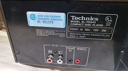 Amazon.com: Technics sl-pd845 giratorio 5 discos Changer ...