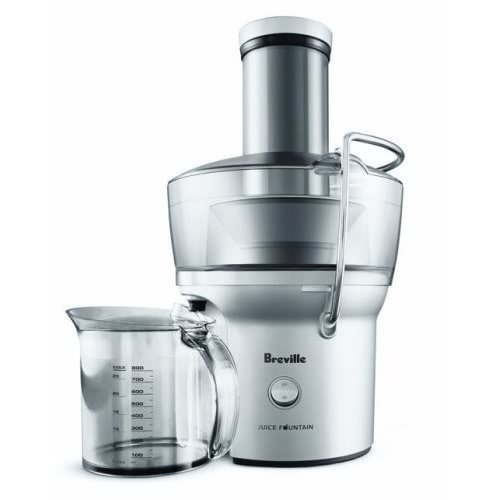 Breville BJE200XL Bundle 700-Watt Compact Juice Fountain with DVD image