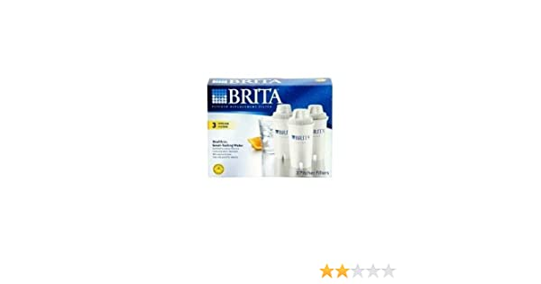 Amazon.com: Brita BRITAIN OB03 REPLACEMENT PITCHER FILTERS ...