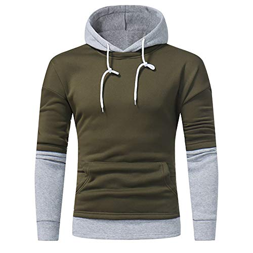 Blouse Clearance Pullover Hoodies AfterSo Men Patchwork Sweatshirt Sweaters -