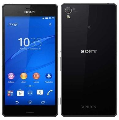 Sony Xperia Z3 D6653 GSM Cellphone Unlocked, International - Sony Xperia Z3 Compact Black