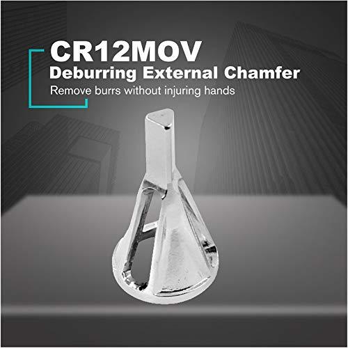 qumingchenba Hex Triangle Shank Remove Burr Tools For Drill Bit Deburring External Chamfer
