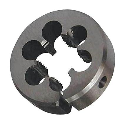 1-1//2 Diameter Drill America DWT Series Qualtech High-Speed Steel Round Adjustable Threading Die 5//8-24 Size Pack of 1