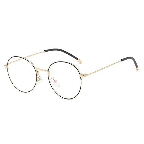 Yangjing-hl El Marco de Gafas literarias Retro de Espejo ...