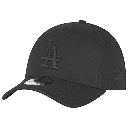 Cap Leather Era New (New Era Los Angeles Dodgers Stretch Fit Cap 3930 39thirty Curved Visor S M)