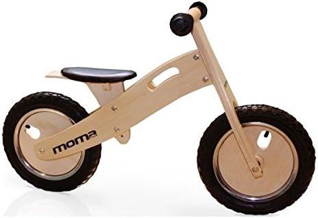 Moma Bikes Woody Classic Bicicleta, Unisex niños, Madera, Talla única