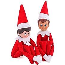 The Elf on The Shelf Plush Dolls BOY+GIRL