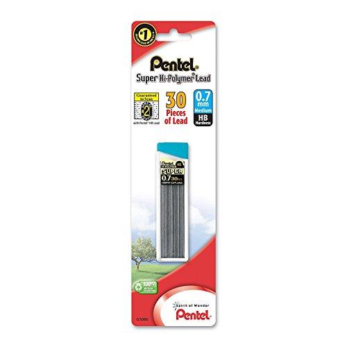 Pentel Super Hi-Polymer Lead Refill , 0.7mm Medium, HB, 270 Pieces of Lead by Pentel (Image #2)