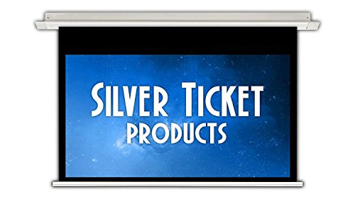 SIE-169150-G Silver Ticket 16:9 4K Ultra HD Ready HDTV In-Ceiling Electric Projector Screen (16:9, 150