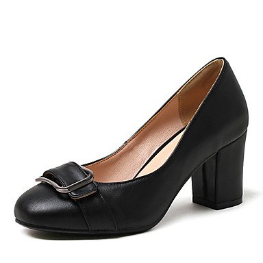 Bombear Zapatos UK6 Colores Mujer Chunky EU39 De US8 Hebilla Square Toe Disponibles Slip Más En CN39 Zormey Talón vqdBFBw