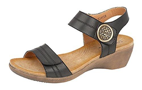 Boulevard - Sandalias de vestir de Material Sintético para mujer negro
