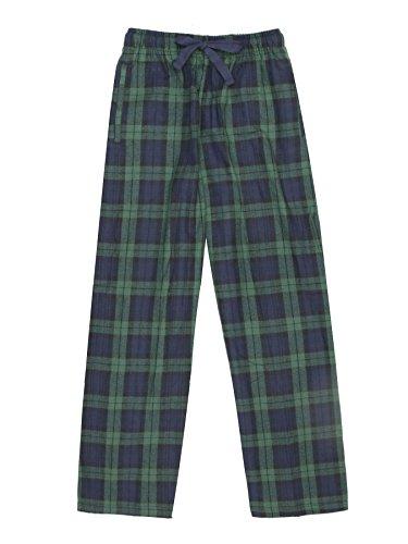 uth 100% Cotton Flannel Pants – Blackwatch, Medium ()