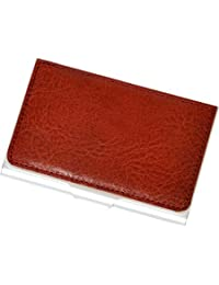 Tony Perotti Italian Bull Leather Ultimo Business and Credit Card Case, Red
