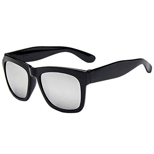 JAKY Global - Lunettes de soleil - Homme gris Black Frame Grey Lens GLiSiY