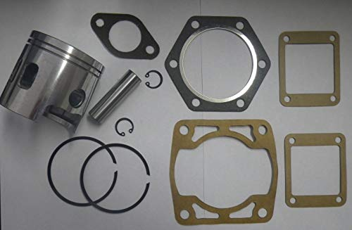 YUN Piston & Gasket Kit | Standard Bore 3PG for 1989-1993 EZGO 2 Cycle Gas Golf Cart