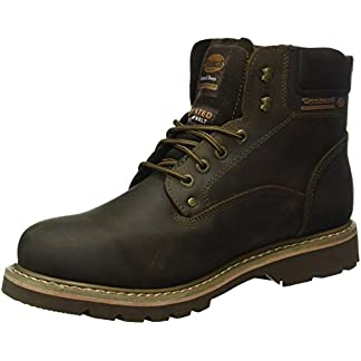 Dockers Herren 23DA004 Combat Boots, Braun (Cafe 320), 43 EU 8