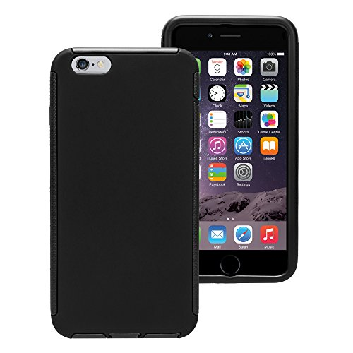 Touch Case Displayschutz Full Cover Schutzhülle Hard Apple iPhone 6/S Plus Schwarz