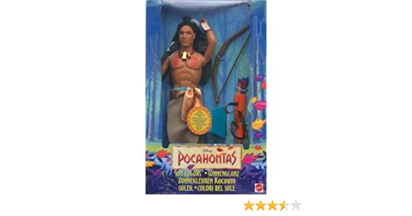 Amazon.com: Sun Colors Kocoum doll from Disneys Pocahontas ...