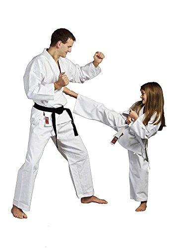 Ju-Sports Traje de Karate Blanco para niños y Adultos ...