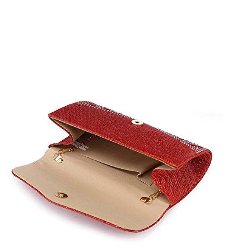 Handbag Bag Women's Glitter Envelope ME68029 Party Blue Evening Ladies Diamante Clutch wFxnt8