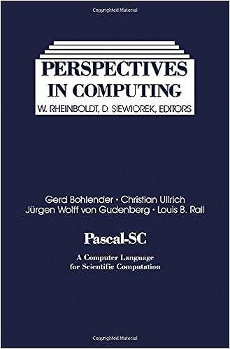 Pascal-SC: A computer language for scientific computation