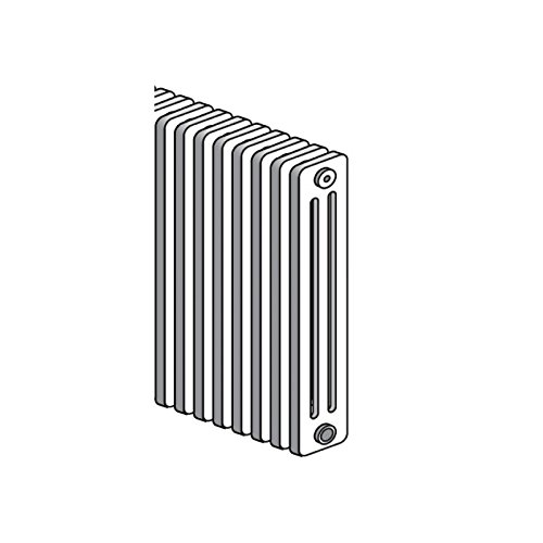 Radiador tubular acero agua caliente blanco Horizontal 2 columna h750 mm l1300 mm calefacción Central 1500 W Delta H Radson S1 - 2075/26: Amazon.es: ...