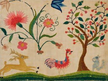Art Needlepoint Winterthur Fruit Flowers and Birds II Needlepoint Canvas