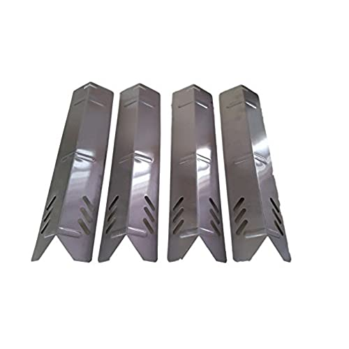 Attirant Set Of 4 Stainless Steel Heat Plates (Length 15 Inchs, Width 3 3/4 Inches)  For Backyard Grills, Better Home And Garden Grills And Uniflame Grills