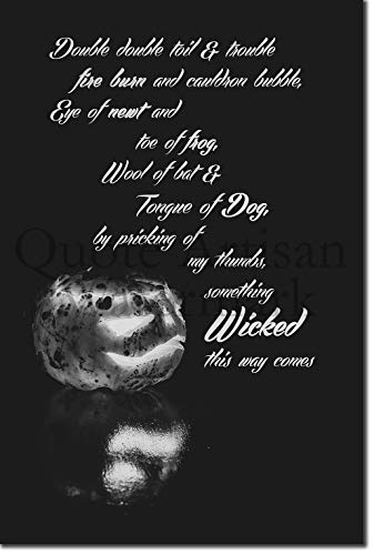 Introspective Chameleon (B&W) Halloween Celebration Poster 01 (