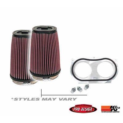 Pro Design Pro-Flow K & N Intake System - Fits: Honda TRX 450ER 2006-2009