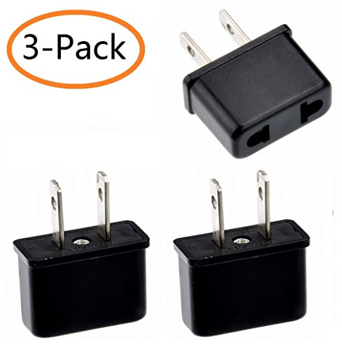 YOQXHY @ Europe / Australia to USA Travel Power Plug Adapter