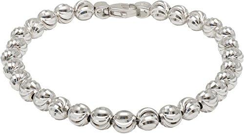 Officina Bernardi - Moon Collection - Bracelet 68B6 - Italian 925 Sterling Silver (7.5 Inches) by Officina Bernardi