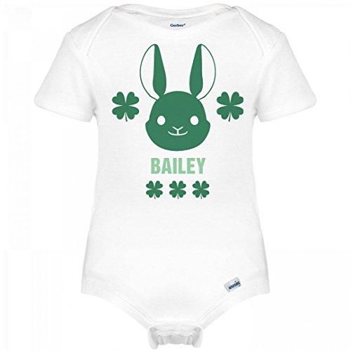 Bailey Boys Bunny (St. Patrick's Lucky Irish Bunny Bailey: Infant Gerber Onesies)