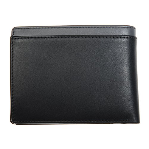 wallet TOMMY HILFIGER HILFIGER trifold trifold grey black TOMMY qOBwpSX
