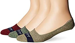 Men's 3 Pack Signature Invisible No Show Liner Socks