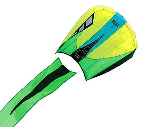 Prism Bora 5 Single-line Parafoil Kite, Jade