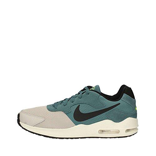 Nike Heren Air Max Guile Hardloopschoen, Lichtgrijs / Zwart-ijs Jade-volt, Maat 9.5