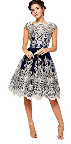 洗練キャンディー作るレディース イブニング パーティー レース ミニ 古典 ワンピース プリンセス 裙 ボンボンスカート 優雅 エレガント 綺麗