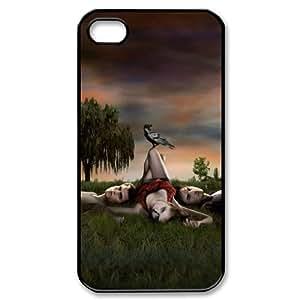 Vampire Diaries HILDA5031010 Phone Back Case Customized Art Print Design Hard Shell Protection Iphone 4,4S