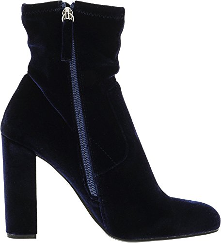 Navy Velvet Boot Top Echo Madden Steve High Women's q4p8YngO