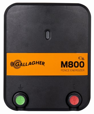Gallagher G323524 Electric Fence Energizer M800, 8 Joule, 90 Miles/520 Acres